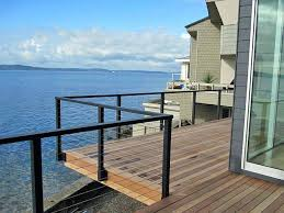 cable deck railing railing series diy steel cable deck railing