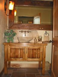 Rustic Bathroom Rustic Bathroom Vanities Home Design By John