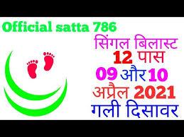 09-04-2021||Satta desawar|sattagali||satta king|| today satta number #gali  #disawarbaba loss cover satta king - paisanews.com
