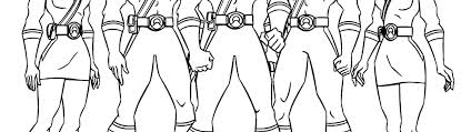 Power Rangers Coloring Pages Printable Power Rangers Coloring Pages