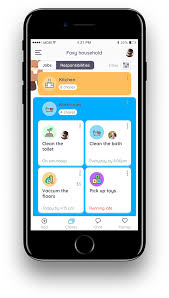 Chore Chart App For Android Homey App For Chores Rewards And Allowance Homey App For