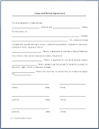 Sample Home Rental Agreement House Rental Agreement Templates Free Sample Example Format Vacation ...