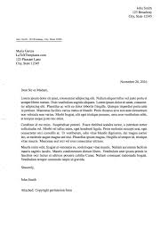 Formal Letter Heading Format Latex Templates Formal Letters