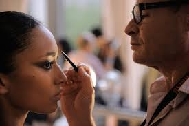 makeup artist tom pecheux works his magic photo jemal countess getty images