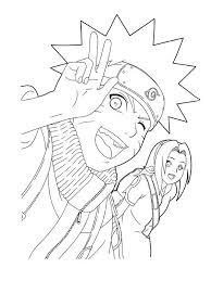 Printable Naruto Coloring Pages Kids Free Coloring Pages For Kids