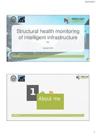 Structural Health Monitoring Structural Health Monitoring Of Intelligent Infrastructure