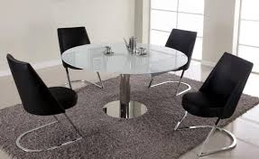 dining room round dining room table sets glass tables for round glass dining table