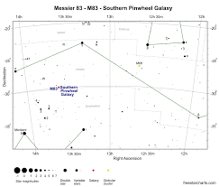 Messier 83 M83 Southern Pinwheel Galaxy Barred Spiral