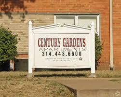 63132 century gardens apartments exit 1606 page industrial blvd saint louis mo 63132