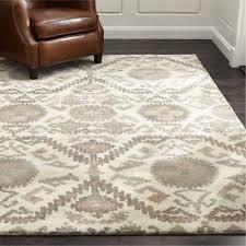 crate barrel orissa rug handmade wool area rugs carpet
