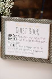 staff signing in book template guest book sign template instant download gray and yellow and
