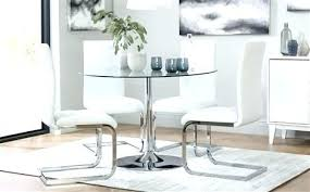 full size of large round glass dining room table top clear and 6 cream chairs all