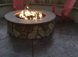 diy outdoor gas fire pit outdoor natural gas fire pit pits insert kit pictures how to