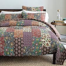 best real patchwork quilted coverlet bedspread bedding sets inside quilt style duvet cover idea to make home patchwork quilt sets