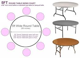 what size tablecloth for 60 inch round table grandelevage com