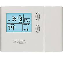 lennox touchscreen thermostat. l3532h comfortsense 3000, programmable thermostat, 5-2 day, single stage lennox touchscreen thermostat