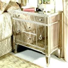 silver bedside table modern mirror glass nightstand black and white silver bedside table silver bedside tables silver bedside table