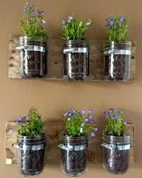 reclaimed wood wall mounted plant mason jar holders 14 ingenious ideas of wall mounted plant