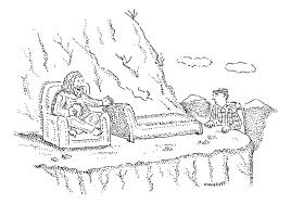 comfy chair drawing. Beautiful Drawing Gurus Drawing  A Man Sits On Comfy Chair In The Mountains By Robert  Mankoff And