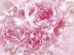 Pink Flower Wallpaper For Bedrooms Http Wwwgraphics99com Pink Magical Roses Picture Lighting