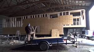 Small Picture S1E0 Sheathing time lapse The Not so Tiny Tiny House on Wheels