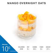 Picture courtesy of minimalist baker. Overnight Oats With Up To 21 Grams Of Protein Nutrition Myfitnesspal