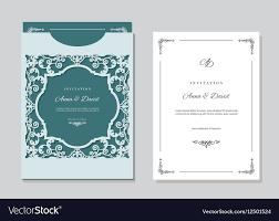 Wedding Invitation Envelope Template Word Printable Design