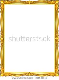 gold frame border design. Picture Frame Border Gold Stock Images Royalty Free  Vectors For . Design E