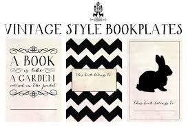 Diy Vintage Inspired Printable Bookplates The Diy Librarian