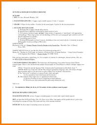 6 Research Paper Mla Example Resume Holder Format Outline Examples