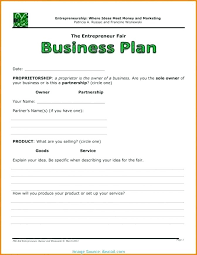 Business Plan Document Template Simple Business Plan Sample Doc Basic Business Plan Templates Free