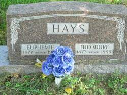 Theodore Hays (1873-1955) - Find A Grave Memorial