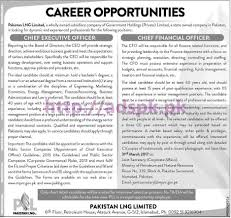 new career best jobs lng limited islamabad govt of new career best jobs lng limited islamabad govt of jobs for chief executive