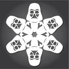 star wars template 60 free paper snowflake templates star wars style