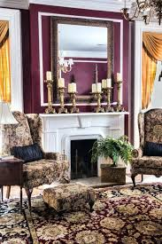 stacked stone fireplace bedroom traditional with antique mirror antiques jewel tone oriental rug toned woven thresholdtm