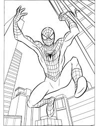 Small Picture Awesome Coloring Spiderman Gallery New Printable Coloring Pages