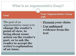 writing an argumentative essay ppt what is an argumentative essay