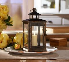 luminara 11 hudson lantern with flameless votive candle and remote