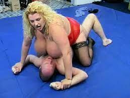 Naked Big Tit Wrestling