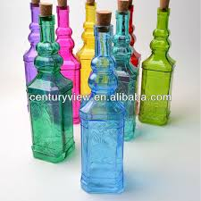Decorative Glass Bottles Wholesale