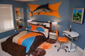Attractive Kids Bed Rooms, Blue Marlin Fish Themed Kids Children Bedroom: Bright Boysu0027  Bedroom