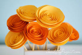 Made Flower With Paper How To Make Rolled Paper Flowers