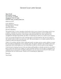 Ample Cover Letter Cover Letter For General Resume Submission Letters Resumes Sample Re