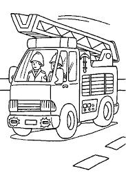 Disegni Da Colorare Camion Pompieri Gif Animate Categoria Mezzi