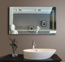 Led Lighting Mirrors Perfect Design Mirrors From Lamxon Lighted Mirrors For Bathrooms  Modern