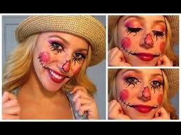 make up tutorial you costumes in 2018 scarecrow costume and scarecrow makeup