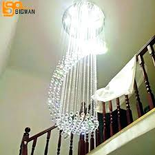 long crystal chandelier long crystal chandelier drops for chandeliers stairwell chrome finish dining room high large long crystal chandelier