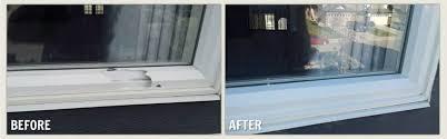 diy vinyl frame repair damages