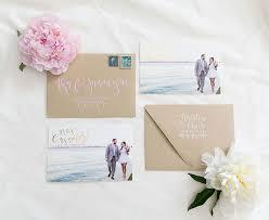 Natalia Chriss Wedding Announcement Postcards