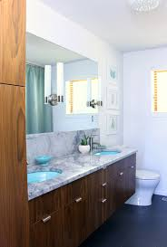 A MidCentury Modern Inspired Bathroom Renovation Before After - Bathroom remodel before and after pictures
